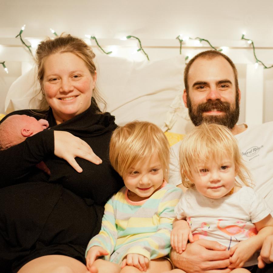 Rachel Howell with Family
